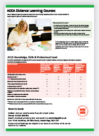Study ACCA Courses Abroad | StudyLink