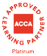 ACCA Approved Learning Partner Logo