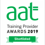 First Intuition are shortlisted for Online College of the Year and AAT Tutor of the Year at the AAT Awards 2019