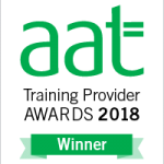 First Intuition won AAT Large Training Provider of the Year 2018 at the AAT Awards