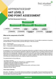 Level 2 End Point Assessment Summary